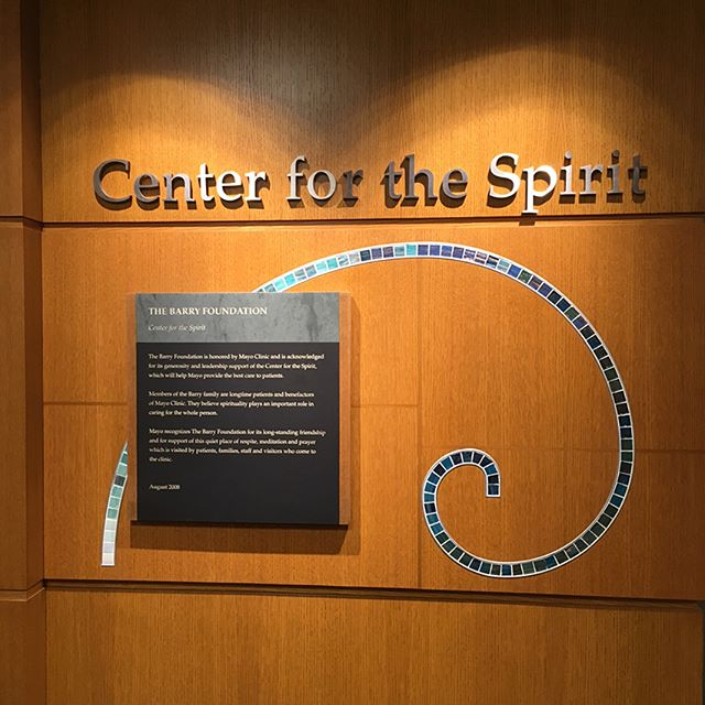 Center for the Spirit (Part I) #TraumaInformedCare #TIC #TraumaInformedDesign #TID #InclusiveDesign #InclusiveByDesign #MedicalDesign #Design #Medical #MedicalSocialWork #SocialWork #RoadToMSW #Research #UseOfSelfInResearch #Mayo #MayoClinic #Rochester #MN #RochesterMN