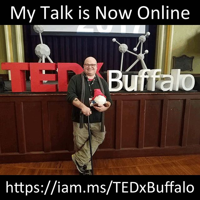 Pleased to announce that the video of my TEDx talk is finally released! Watch it on YouTube by clicking the shortened link: https://iam.ms/TEDxBuffalo #ted #tedx #tedxtalks #tedtalks #tedxtalk #tedtalk